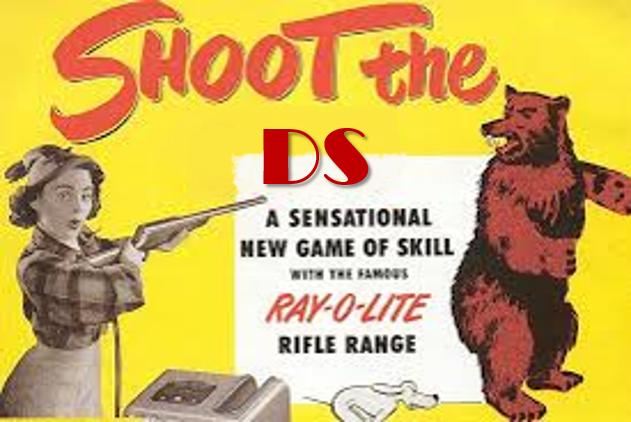ricordate il vecchio gioco di spara all'orso? oggi è cambiato...